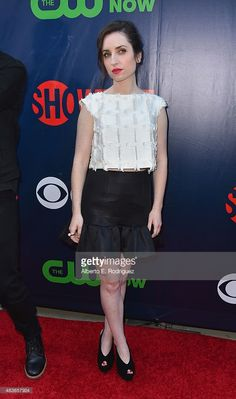Actress Zoe Lister Jones attends CBS' 2015 Summer TCA party at the Pacific Design Center on August 10, 2015 in West Hollywood, California.