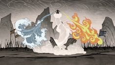 the legend of korra book 2 spirits water and fire