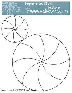 Peppermint Discs Pattern