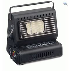 Hi Gear Portable Gas Heater Reviews | GO Outdoors  This is a great little heater. No problem heating up my Gobi4 and is fairly economical with gas. It also creates a lovely glow where the TV shoukd be!