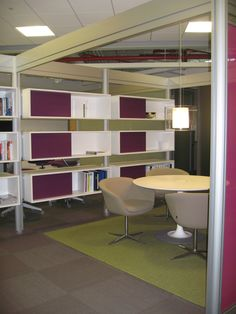 Conference room shelving idea