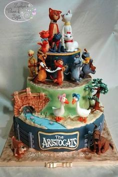 Cake Wrecks - Sunday Sweets: A Disney Movie Marathon...this is one of the best Disney cakes I've ever seen! by penelope