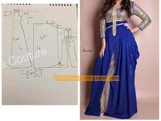 All Fashion, Hijab Fashion, Fashion Ideas, Clothing Patterns, Dress Patterns, Pattern Dress, Strapless Dress, Prom Dresses, Formal Dresses