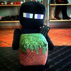Minecraft peluche-sujetamandos