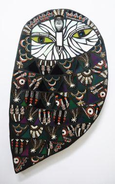 mosaic owl by Amanda Anderson