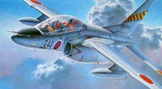 Kawasaki T-4 JASDF (Shigeo Koike)