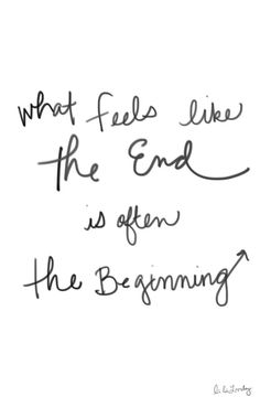Painful endings lead to new beginnings... 🌟CSC🌟