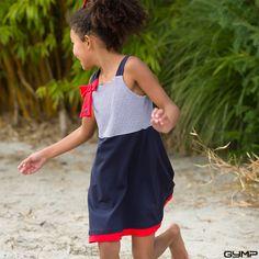zuckersüßes Kleid im Marine-Look – Mode für Mädchen von Gymp #Gymp