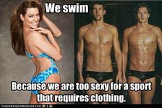 makes me want a swimmer boyfriend