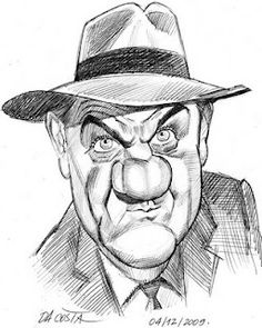 Karl Malden (by Charles DA COSTA)