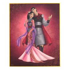 Disney Designer Couple Mulan
