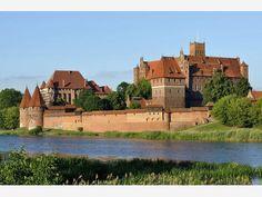 Scenic #marlbork #castle #poland