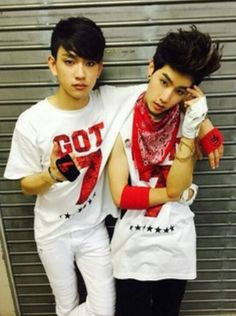 Got7 Mark and Jr