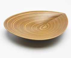 Bowl by the Finnish designer, Tapio Wirkkala. It has appeared in the book, Eye, Hand, Thought.