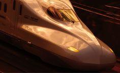 N700系 新幹線の走行風景