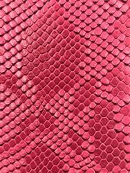 Vinyl fabric Olive Shiny Faux Crocodile Embossed 3D Scales-Faux Leather 1 Yard