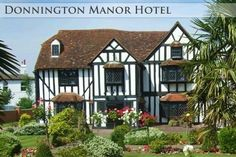 Donninghton Manor Hotel.