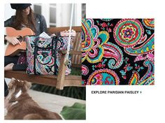 It's going the be the best year yet! Vera Bradley goes back to school with Parisian Paisley.