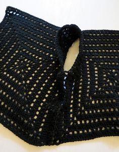 omⒶ KOPPA - Wool black jacket: sew the sides