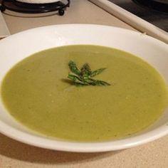 Fresh Asparagus Soup - Allrecipes.com