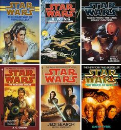 Where to Begin With Star Wars Books | Here are a few fun suggestions based on taste, focus and more. Because everyone should read at least one Star Wars novel in their life.