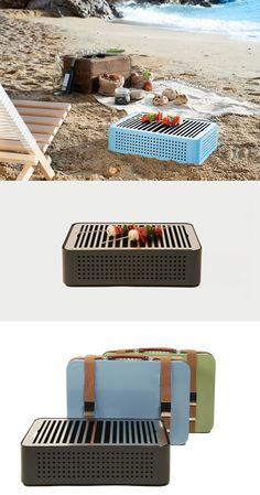 MON ONCLE PORTABLE BBQ GRILL   RS BARCELONA