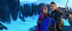 """""""Thanks! That was like a crazy trust exercise!"""" (Sven is shipping in da background) wow at the same moment kristoff fell in love with anna! Wow call me crazy"""