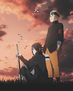 Naruto Sasuke by ballz4artz on DeviantArt