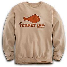 Turkey Leg Sweatshirt for Adults - Walt Disney World | Fleece & Outerwear | Disney Store