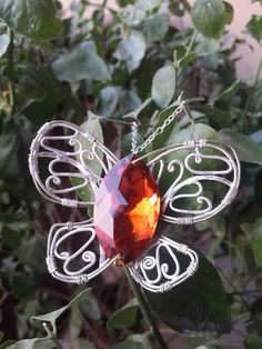 Butterfly pendant - this one has a special place!! :) Mythika handmade silver jewelry by priya Jhavar