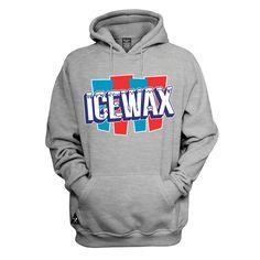 Ice Wax Hoody - Heather Gray