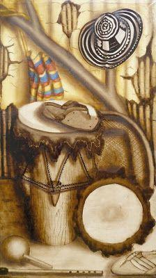 Cuadros Modernos Pinturas y Dibujos : Bodegones Musicales al Óleo (Pintura y Música) Klimt Art, Folklore, Still Life, Culture, Drawings, Painting, Crafts, Tadashi, Anime