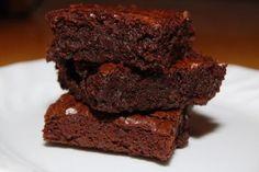 Secret Ingredient Fudgy Brownies