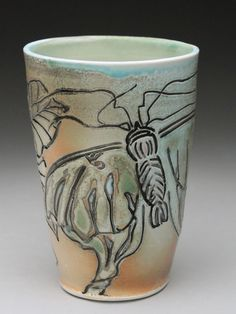 Becky Strickland Salt-fired Pottery at MudFire Gallery Atlanta