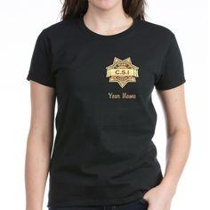 CSI Miami T-Shirt #CSI #CSIMiami CSI designs, #Forensics ADD TEAM NAME, pocket designs with names, 100's of products phone cases more Search CSI in my Profile