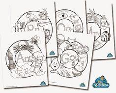 DESCARGATE TODAS LOS MANDALAS EN PDF  Abecedario DE  Mandalas. Lo podrían hacer ellos. Cada niño una letra
