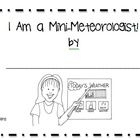 A fill in the blank weather activity for kindergarten. Children report on the current weather conditions by filling in the blanks provided, illustr...
