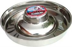 Loving Pets Stainless Litter Dish Puppy Bowl, 11-Inch - http://www.thepuppy.org/loving-pets-stainless-litter-dish-puppy-bowl-11-inch/
