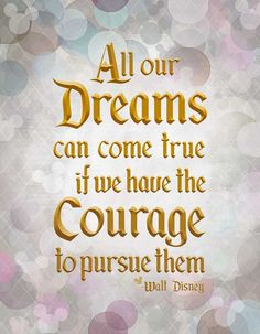 Dreams Can Come True Walt Disney Quote by tuckerreece on Etsy