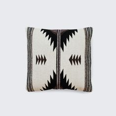 """Espadin Pillow, 18x18"""" $135 from The Citizenry"""