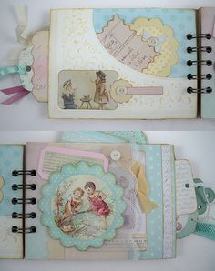 MF Shabby Chic album pages