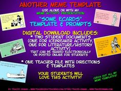 "MEME ACTIVITY ""SOME ECARD"" FOR ICEBREAKER, BELL RINGER, EXIT SLIP - TeachersPayTeachers.com"