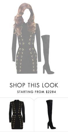 """""""Fashion Show *Alexis*"""" by rp-kpop ❤ liked on Polyvore featuring Balmain and Gianvito Rossi"""
