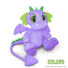 Quirky Artist Loft: Free Pattern: Draco The Dragon