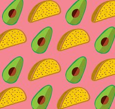 La Fábrica del Taco pattern by Hola Bosque on Behance