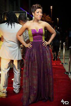 Ghana Style Success: Jocelyn Dumas and the Adams Apple Team Rock African Print Dress African Wedding Attire, African Attire, African Wear, African Women, African Dress, African Style, African Outfits, African Weddings, African Inspired Fashion