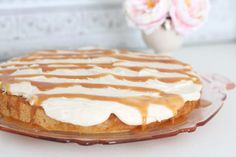 Brown Sugar Cake with Salted Caramel Icing - Coordinately Yours by Julie Blanner entertaining & design that celebrates life Cookie Desserts, Just Desserts, Delicious Desserts, Sweet Recipes, Cake Recipes, Dessert Recipes, Salted Caramel Icing, Yummy Treats, Sweet Treats