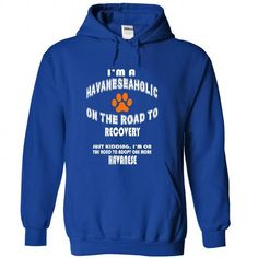 Limited Edition Im a Havanese-aholic on the road to rec - #gifts #handmade gift. LOWEST PRICE => https://www.sunfrog.com/Pets/Limited-Edition-Im-a-Havanese-aholic-on-the-road-to-recovery-Just-kidding-RoyalBlue-27406405-Hoodie.html?68278
