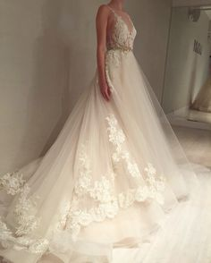 Wedding gown by Lazaro | Style 3607 More