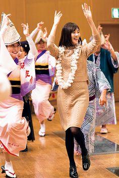 豊かな自然と伝統が息づく、四国の魅惑スポット「徳島県」。阿波踊りをする安座間美優。